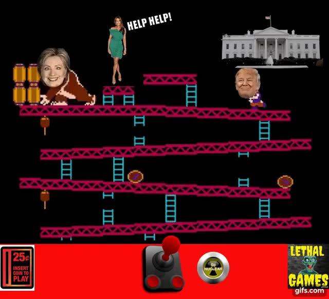 Watch TRUMP KONG! GIF by Mick Lethal (@micklethal) on Gfycat. Discover more Donald Trump, Hillary Clinton, actually_funny, actuallyfunny, election, gamer_gate, gaming_gifs, hillary, hillaryclinton, inaugeration, lethal, lethalgifs, mick_lethal, politics, presidenttrump, russia_gate, trending, trump, washington GIFs on Gfycat