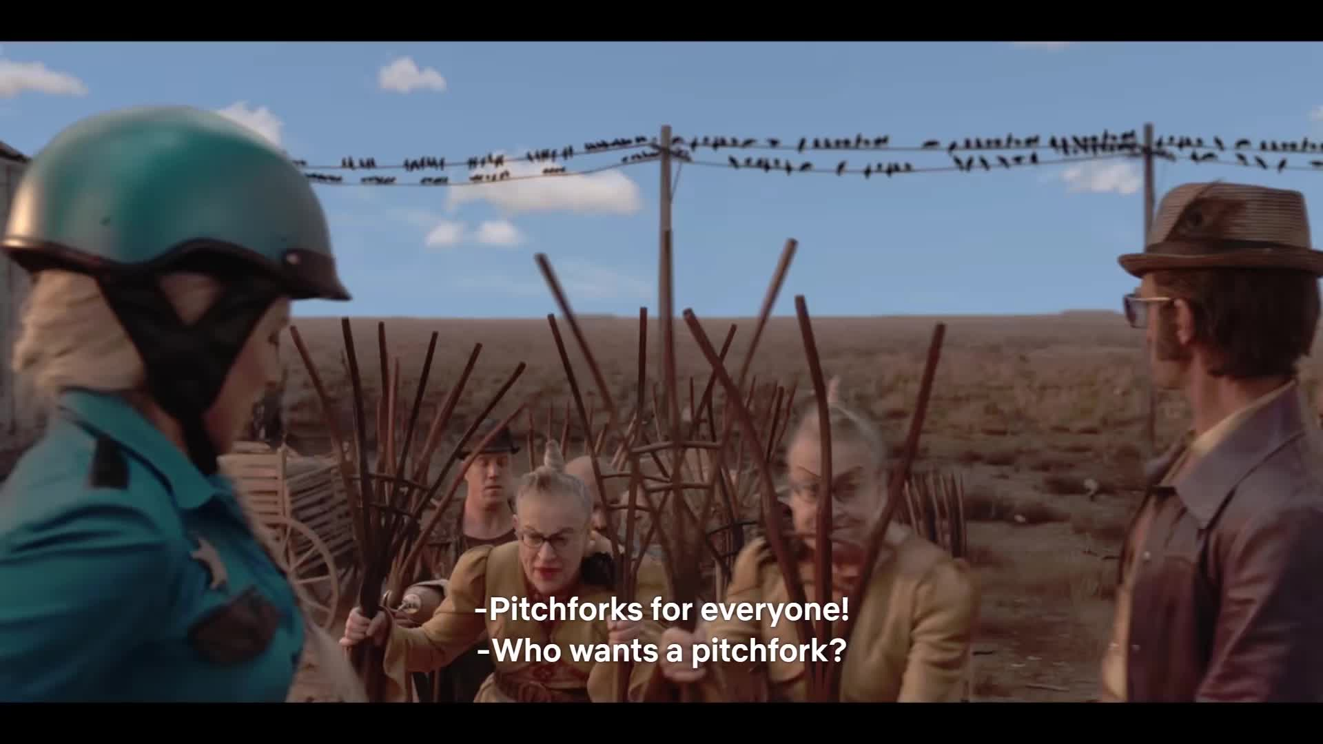 asoue, series of unfortunate events, Get Your pitchforks here GIFs