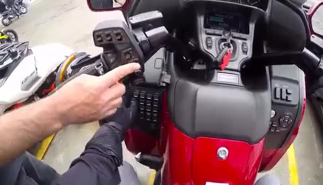 Watch and share RIDING WITH NO HANDS! | First Ride On A Honda Goldwing! GIFs on Gfycat