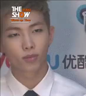 Watch this trending GIF on Gfycat. Discover more bangtan, bts, kim namjoon, my gifs, rap monster GIFs on Gfycat