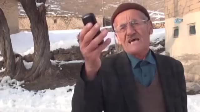 Watch and share Telefonu Kıran Köylü Dede GIFs on Gfycat