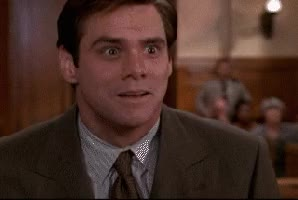 Watch I guess Jim Carrey was too excited GIF by Reaction GIFs (@sypher0115) on Gfycat. Discover more related GIFs on Gfycat