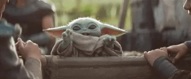Watch and share Baby Yoda GIFs by Shelly StarZZ on Gfycat