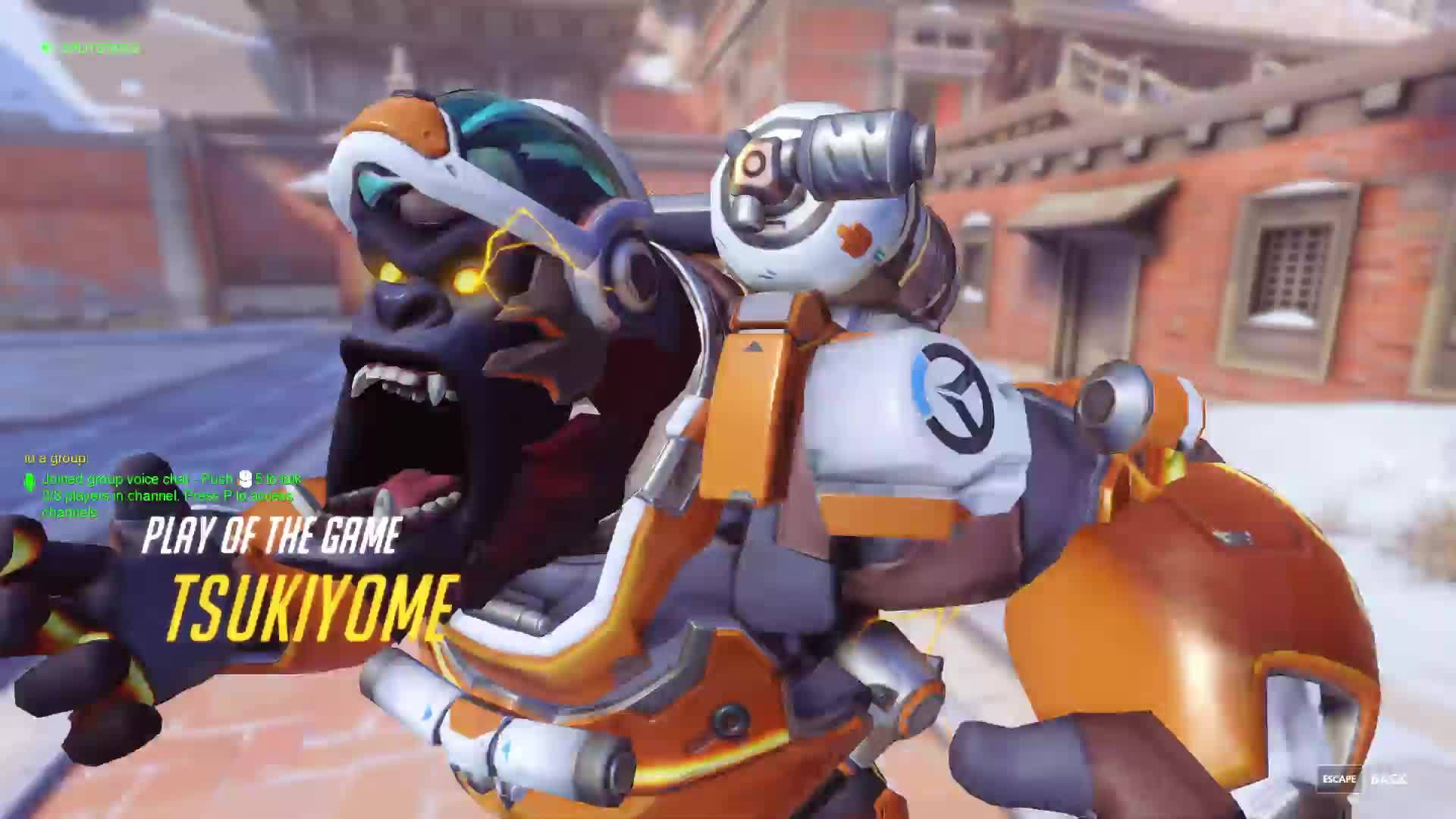 Overwatch, overwatch, winston, When you're mad you're about to lose but then you remember you're Bruce Banner. GIFs