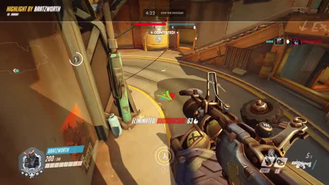 Watch airshot 18-08-30 02-56-13 GIF by bigdickbandito on Gfycat. Discover more highlight, junkrat, overwatch GIFs on Gfycat