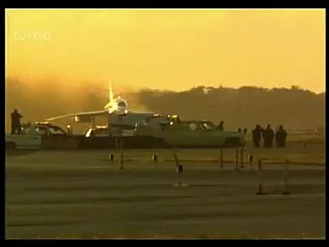 Watch and share Concorde's Final Take Off From JFK Airport In 2003 GIFs on Gfycat