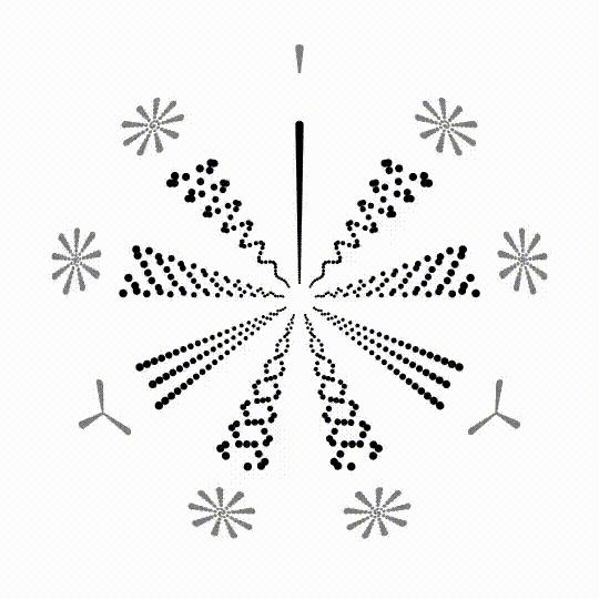 AskReddit, holofractal, 2d Field Spirals vs their helical counterparts (reddit) GIFs
