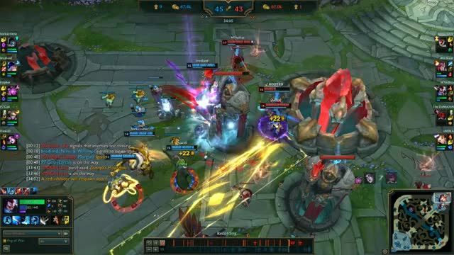 Watch 9-6 EUW1-3970026178 01 GIF by @peope0 on Gfycat. Discover more PENTAKILL, highlight, league of legends, leagueoflegends GIFs on Gfycat