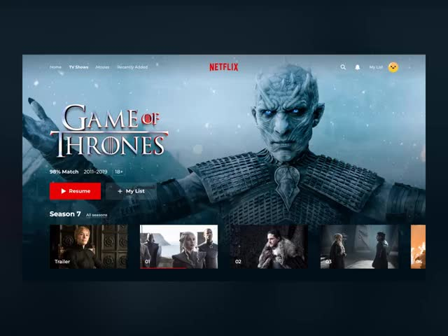 Watch and share Netflix_concept_final GIFs by Eyal Zuri on Gfycat