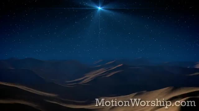 Christmas Star Desert Flyover HD Loop by Motion Worship propresenter plus mpg mp4 moving motions loop jesus hymn easyworship christmas backgrounds background animated Star Service Live Desert Christian CHRIST GIF