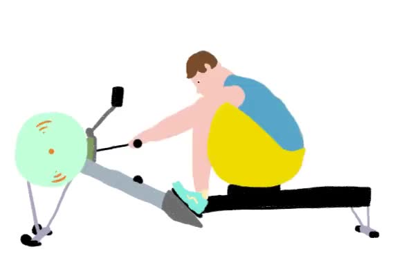 Watch and share Rowing Machine GIFs on Gfycat