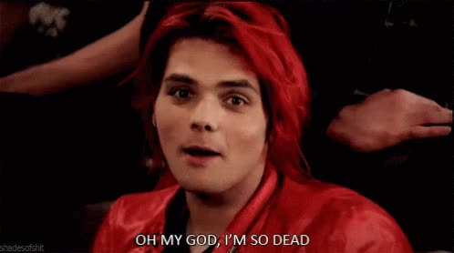 Watch and share My Chemical Romance GIFs and Gerard Way GIFs on Gfycat