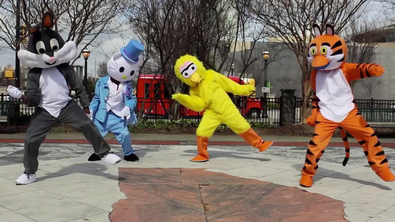 celebrate, funny, looney, Celebrate Cartoon Dance GIFs
