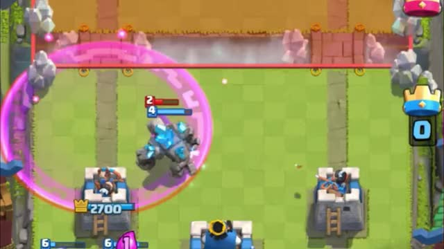 Watch and share Golem Double Prince Crazy 2 GIFs by Clash Royale Kingdom on Gfycat