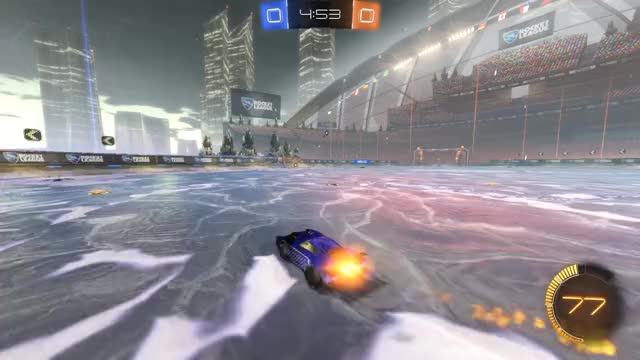 Watch Goal 1: Laggy GIF by Gif Your Game (@gifyourgame) on Gfycat. Discover more Gif Your Game, GifYourGame, Goal, Laggy, Rocket League, RocketLeague GIFs on Gfycat