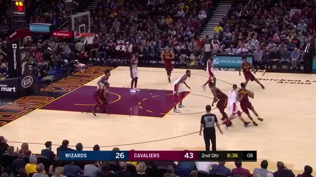 Watch and share Cleveland Cavaliers GIFs and Washington Wizards GIFs on Gfycat