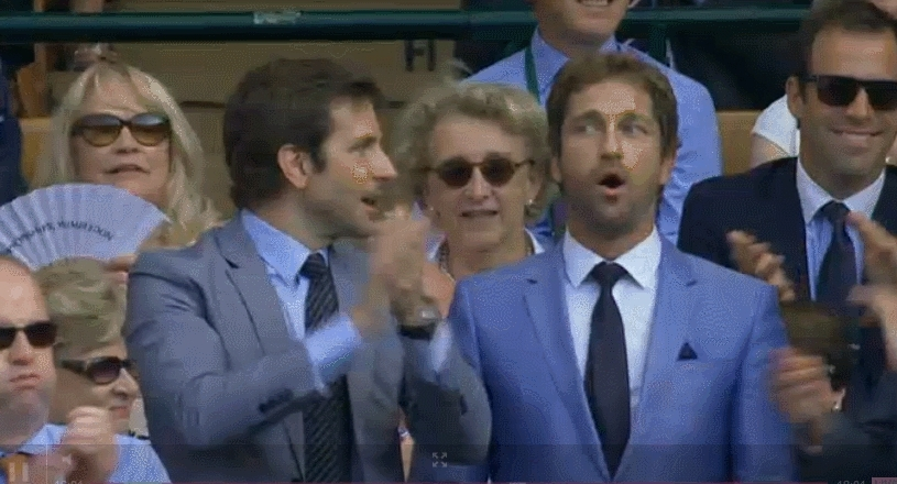 Bradley Cooper, Gerard Butler, applause, clap, respect, applause/clap/ clapping/ slow clap GIFs