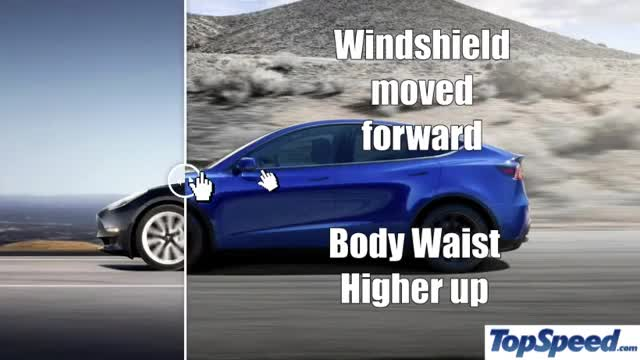 Watch and share Tesla Model Y Waistline Vs Model 3 GIFs on Gfycat
