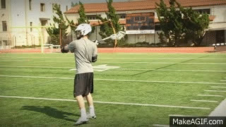 Lacrosse Basics: How to Pass a Lacrosse Ball GIFs