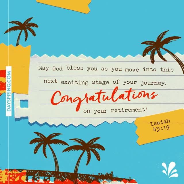 Watch and share Congratulations On Retirement GIFs on Gfycat
