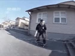 Watch and share Skateboarding Skateboarding Gif Pontus Alv GIFs on Gfycat