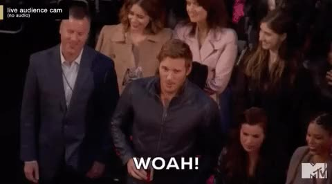 Watch this chris pratt GIF on Gfycat. Discover more chris pratt, whoa, woah GIFs on Gfycat