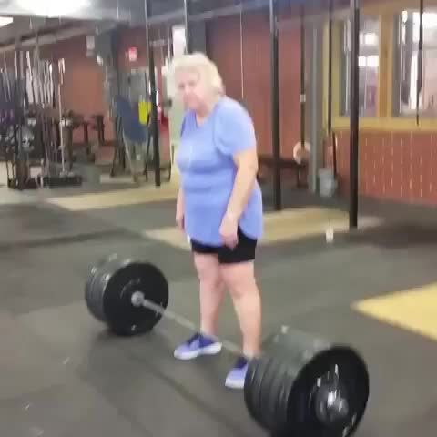 People Are Awesome, bodybuilding, bodybuilding_and_fitness_, bodybuildingfood, bodybuildingmotivations, bodybuildingwomen, elderlyfitness, gymbuddy, gymbuddys, whatsyourexcuse, workoutbuddy, Amazing 220 pound deadlift GIFs