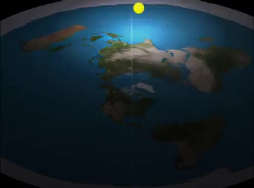 Night and Day in the Flat Earth model GIF | Find, Make & Share ...