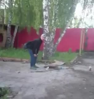 WCGW if I poor this flaming liquid down this hole GIFs
