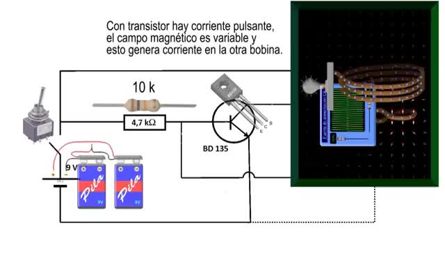 Watch BOBINA DE TESLA (Funcionamiento de la mini bobina de Tesla) GIF on Gfycat. Discover more related GIFs on Gfycat