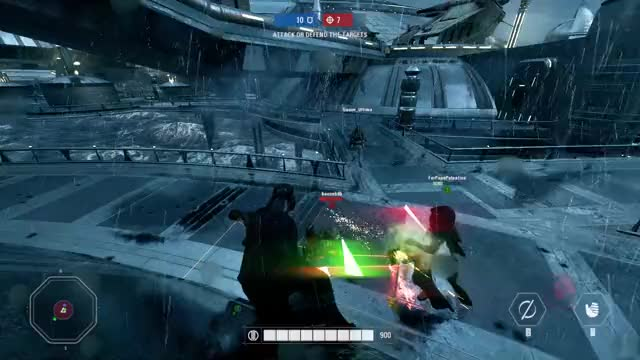 Watch and share Heroes Vs Villains GIFs and Battlefront GIFs by WigglyDickling / MCClapYoHanz on Gfycat