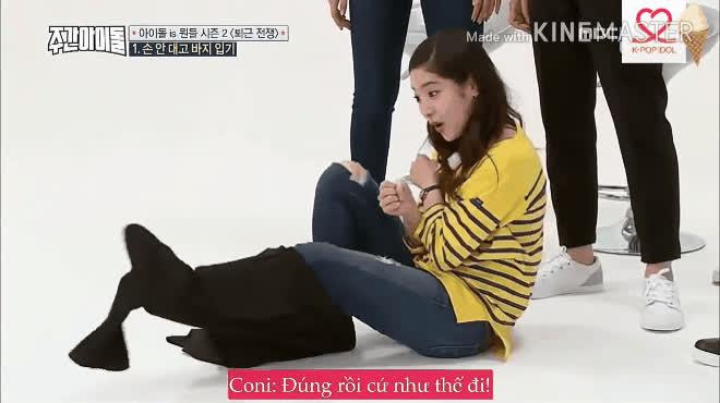 Fan bó tay trước kĩ thuật mặc quần không dùng tay đầy bá đạo của Hee Chul  Hani  Jackson