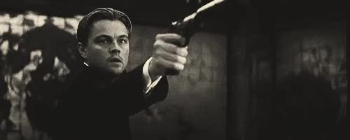Watch this gun GIF on Gfycat. Discover more gun, inception, leonardo dicaprio GIFs on Gfycat