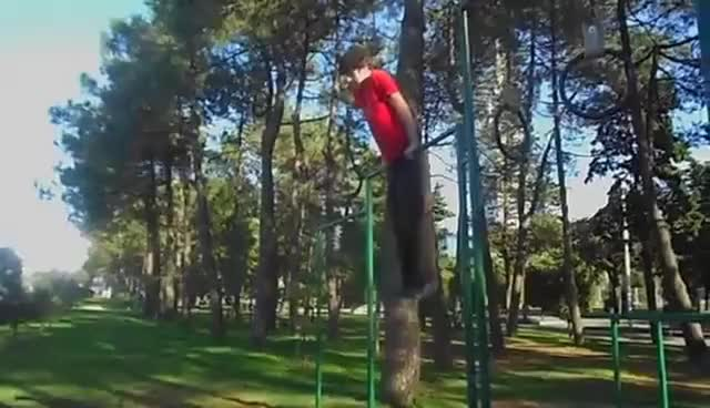 Watch and share Parkour Fail GIFs on Gfycat