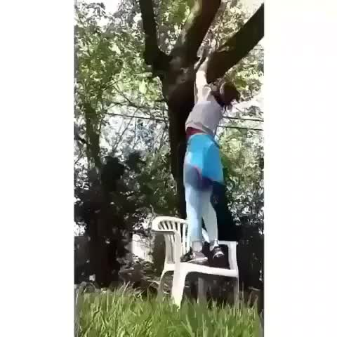 Watch and share Disappearing Chair GIFs by Jackson3OH3 on Gfycat