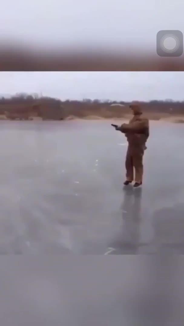 Watch and share Shooting Through Ice GIFs by hellsjuggernaut on Gfycat