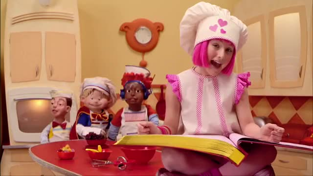 Lazy Town | Cooking By The Book Music Video GIF | Find, Make & Share
