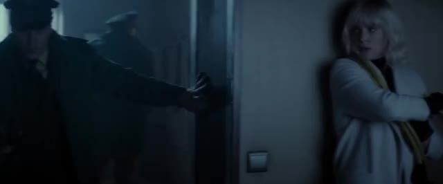 Watch Atomic Blonde - The Apartment Fight Scene GIF on Gfycat. Discover more Atomic Blonde, Berlin, apartment, apartment fight, policemen GIFs on Gfycat