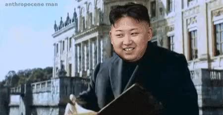 Watch this kim jong un GIF by @cosimoss on Gfycat. Discover more kim jong un, politics GIFs on Gfycat