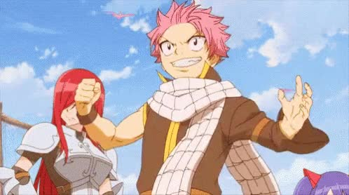 Watch Fairy Tail Natsu GIF on Gfycat. Discover more related GIFs on Gfycat
