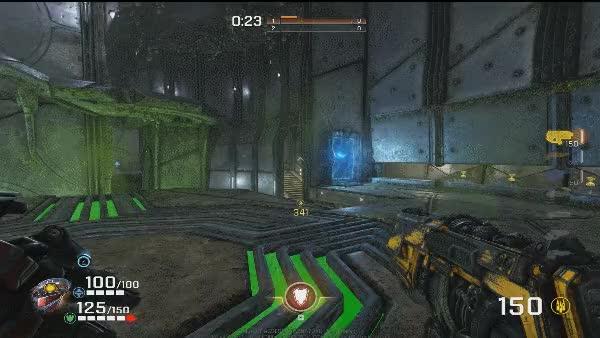 The origins of Quake Champions' jumping styles | PC Gamer
