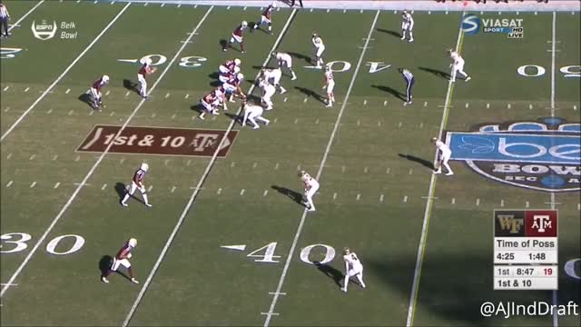 Watch Duke Ejiofor (Wake Forest DE) vs Texas A&M - 2017 GIF on Gfycat. Discover more Duke Ejiofor, Wake Forest, football GIFs on Gfycat