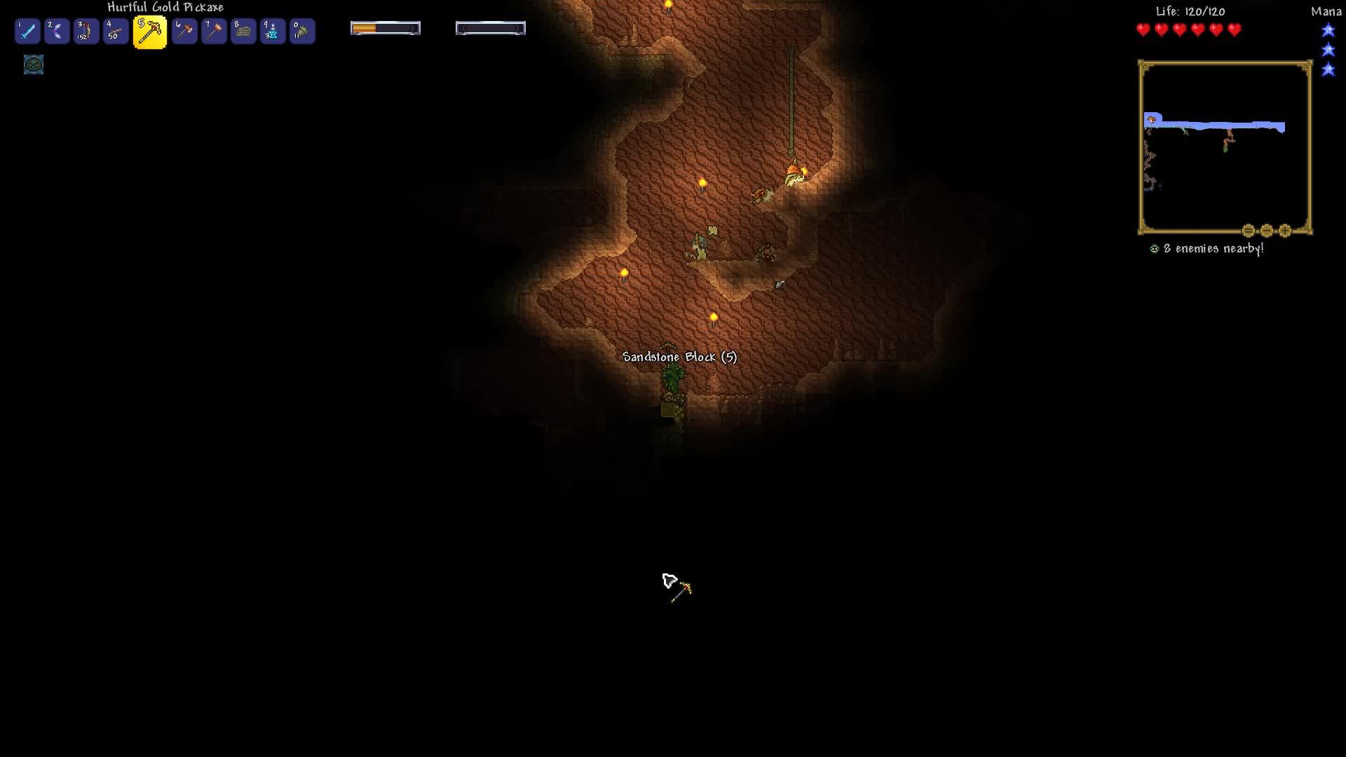 Terraria, Spooky GIFs