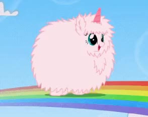 Watch and share Pink Fluffy Unicorns Dancing On Rainbows! GIFs on Gfycat
