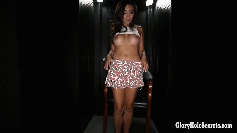 Sexy little latina Frida Sante milks a cock