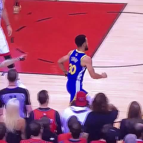 Watch this basketball GIF by Pete Brown (@pauljonesb) on Gfycat. Discover more 2019, basketball, bench reaction, golden state warriors, nba finals, raptors, steph curry, stephen curry, toronto raptors, warriors GIFs on Gfycat