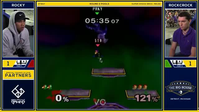 Watch TBH7 Melee - Rocky (Falco) Vs. RockCrock (Ganondorf) SSBM R2 Pools GIF on Gfycat. Discover more vgbc, vgbootcamp, video GIFs on Gfycat