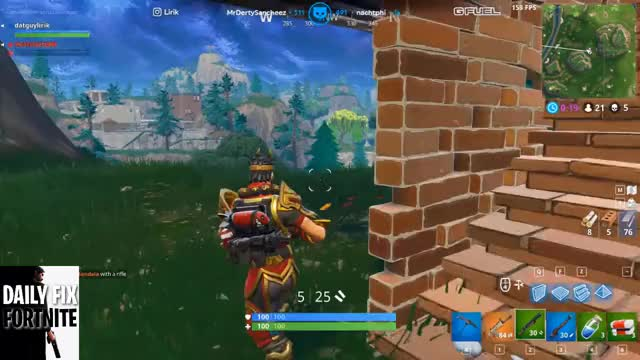 sneaky style shotty 2 kill DAILY FIX FORTNITE YOUTUBE