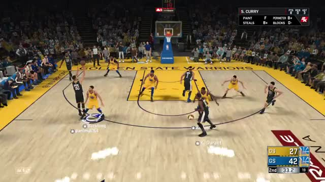 Watch Kevin Durant GIF on Gfycat. Discover more PS4share, Backlong, NBA 2K18, PlayStation 4, Sony Interactive Entertainment GIFs on Gfycat