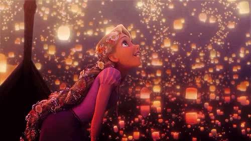 Watch and share Princess Rapunzel GIFs and Beautiful GIFs on Gfycat